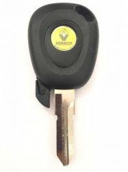 Chave codificada Renault Logan simples até 2014