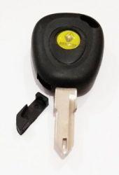 Chave codificada Renault Sandero simples até 2014