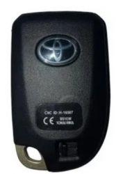 Cópia de Chave Toyota Yaris Start/Stop